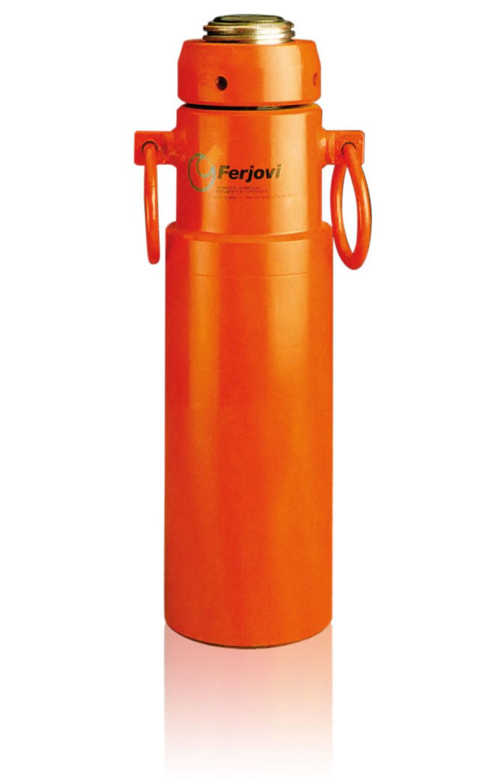 Cilindros hidráulicos de doble efcecto con tuerca de seguridad