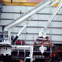Cilindros hidráulicos marinos con certificación 3.2 por DNV  para un buque de pesca