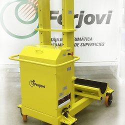 Equipo hidráulico de elevación de palas hidráulicas de hasta 4.000 kg de peso.