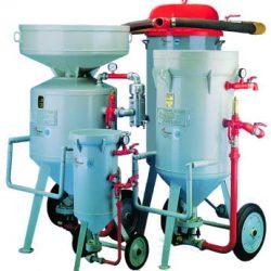Sandblasting and suction equipament